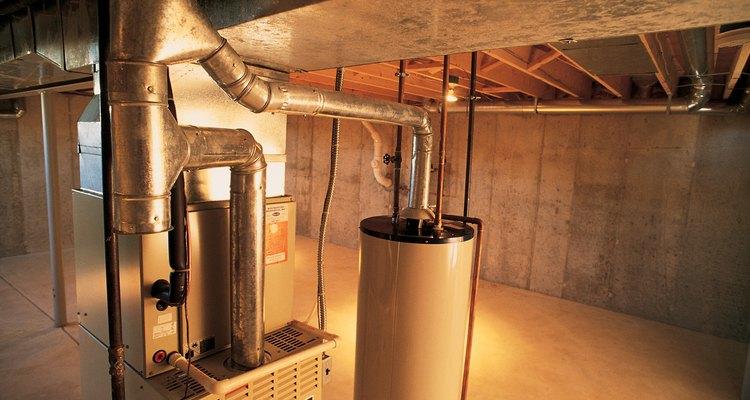 En algunas casas, la ventilación del horno se combina con la ventilación para otros aparatos.