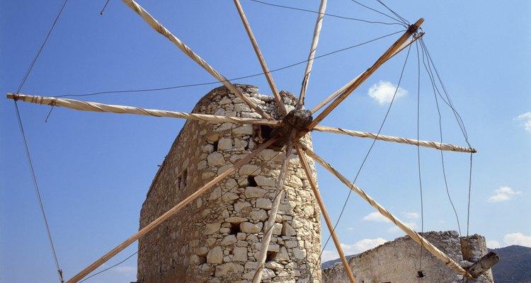 Imagen familiar de un molino de viento.