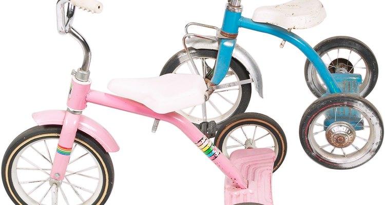 Decore às bicicletas para um desfile de rua