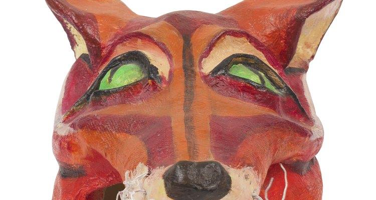 Spirit masks typically depicted animals.