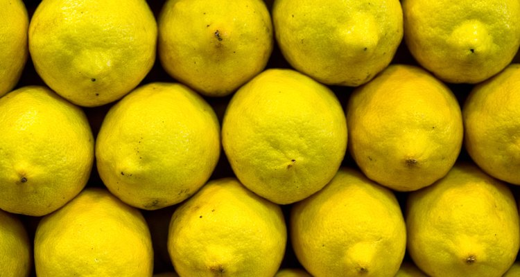 Citric acid occurs naturally in lemons.