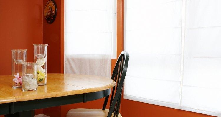 El color naranja es capaz de enaltecer el más simple de los ambientes.