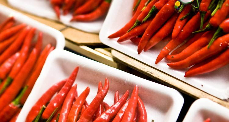 Hot peppers are a common Romani seasoning.