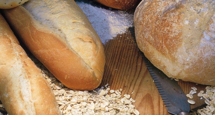 La harina. El ingrediente básico en los productos horneados.