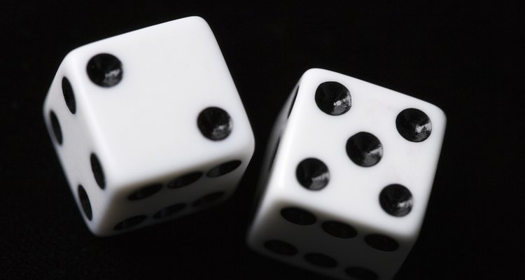 A result of seven is the rarest of the three outcomes in high-low.