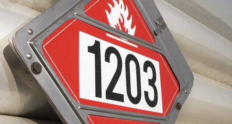 Para o transporte, os gases inflamáveis são, geralmente, liquefeitos