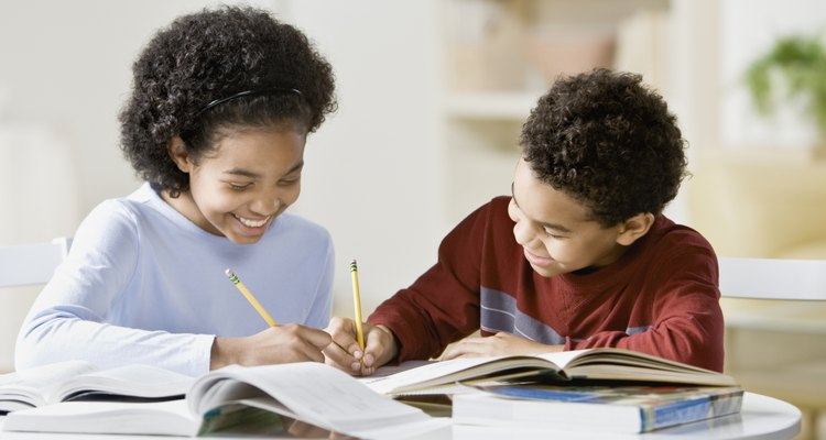 Tu hermana puede ayudarte con la tarea.