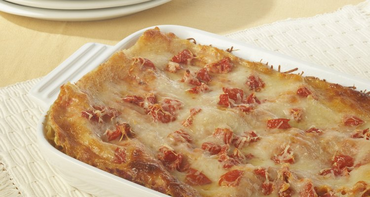 Reheated lasagne can be delicious if done right.