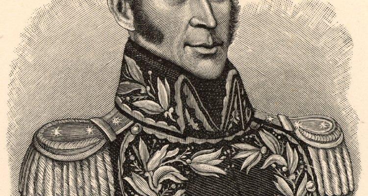 La revolución de Simon Bolivar se benefició de la protección otorgada en la doctrina Monroe.
