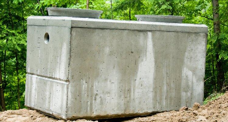 Há diversos lugares passíveis de vazamento em uma fossa séptica