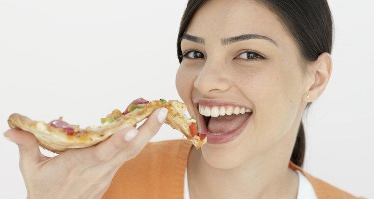 Piensa dos veces antes de que la pizza sea tu elección de comida luego del ejercicio.
