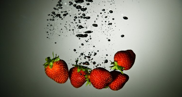 Strawberries are ideal for freeze-drying because of their high water content.