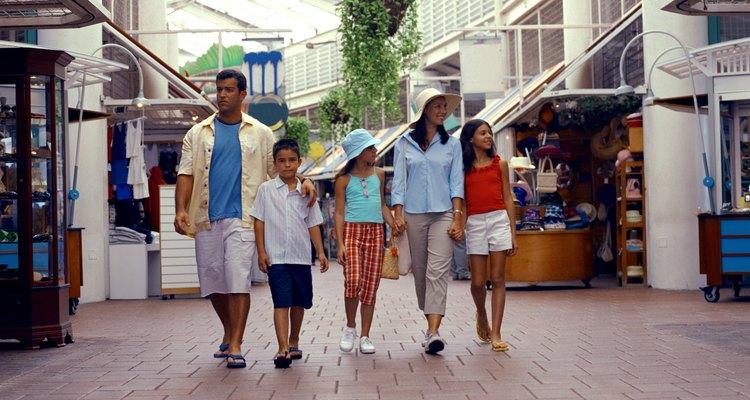 No shopping você encontra diversão para toda a família