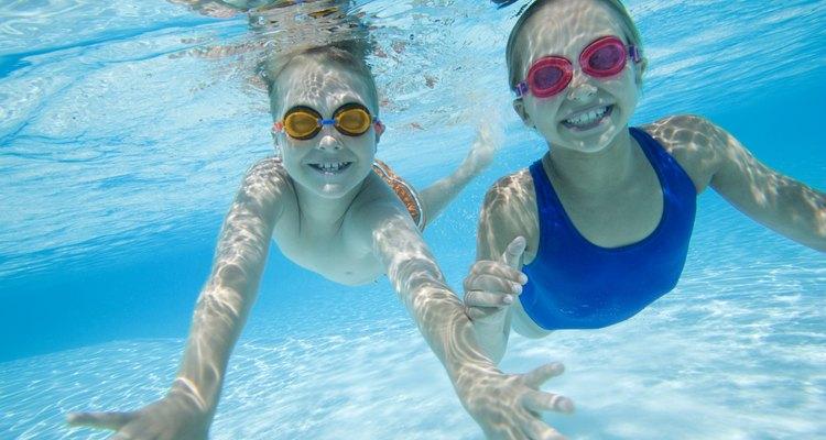 La natación no es una opción para los niños que se recuperan de una amigdalectomía.