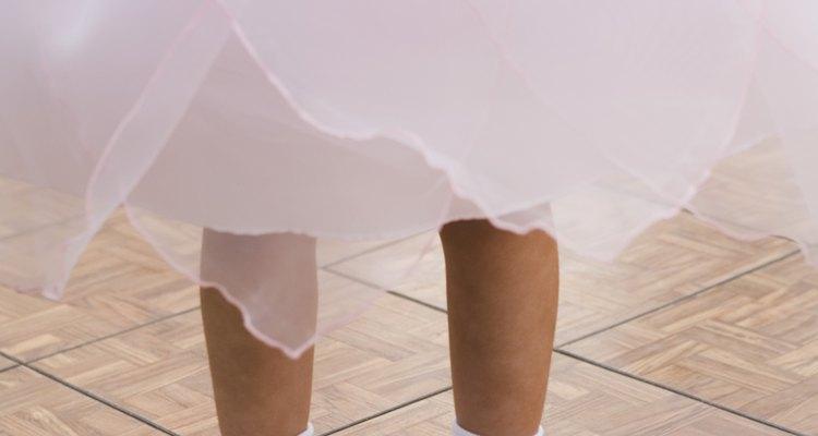 Tule faz parte da roupa da bailarina