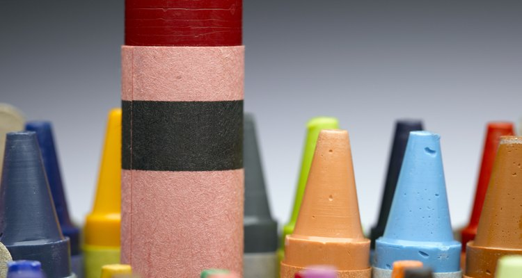 Las manchas de crayón requieren pronta atención.