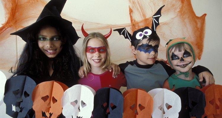 Las fiestas de Halloween ofrecen un amplio abanico de juegos muy diferentes.