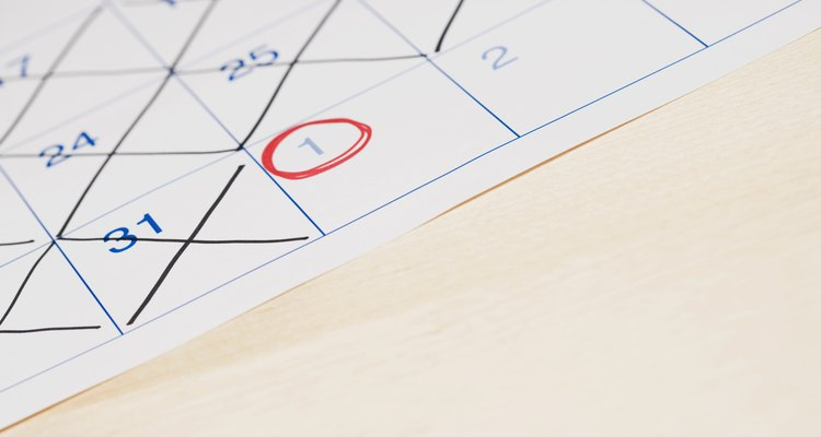 Você não precisa contar no calendário quanto tempo falta até um acontecimento importante