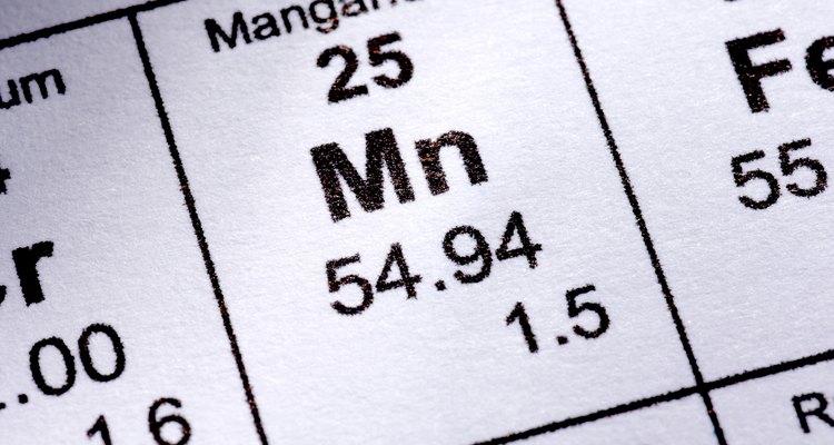 La adición del manganeso al acero le da algunas propiedades útiles.