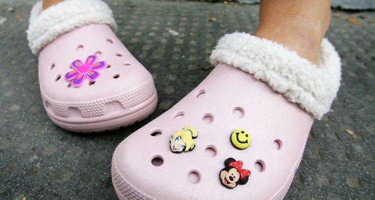 Fur-lined Crocs debuted for winter comfort.