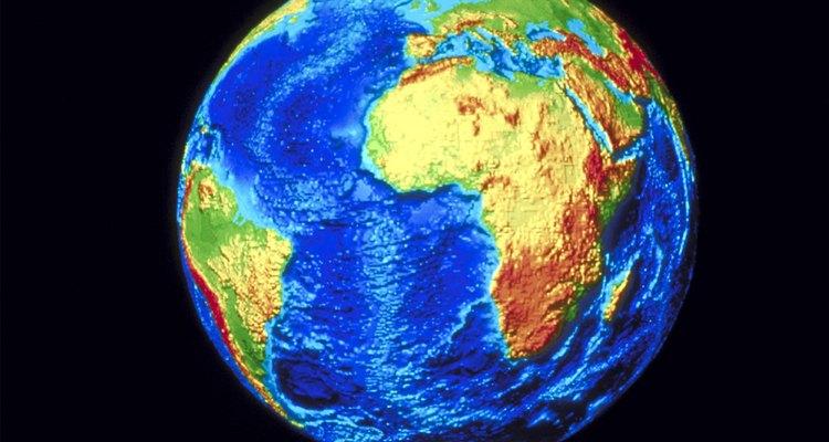 Los nematodos pueden encontrarse en todas partes del mundo.