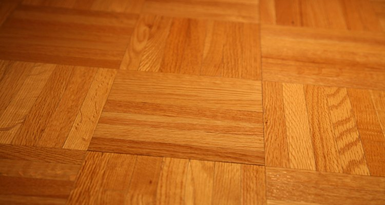 Parquet gives you the beauty of wood floors in multiple patterns.