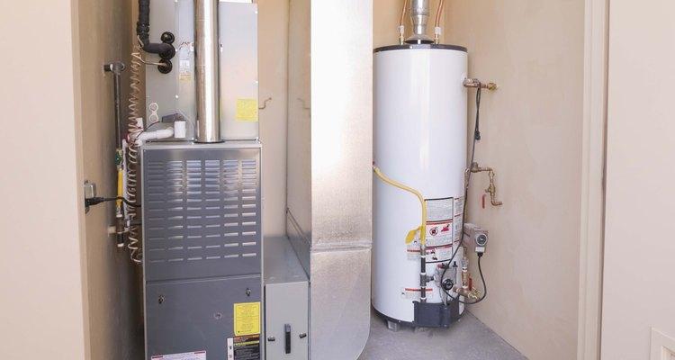El gas metano se puede usar para ejecutar un calentador de agua.