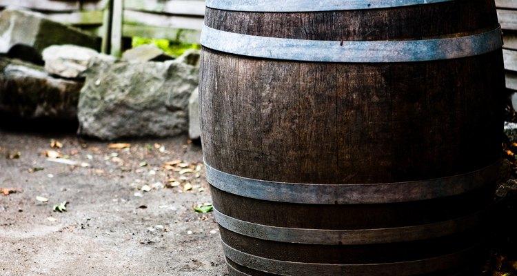 Un barril de lluvia es el método más simple de captación de agua pluvial.
