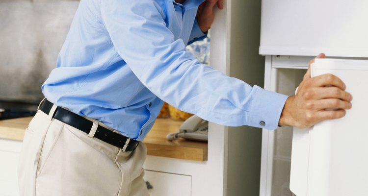 Refrigerator noises usually point to fan or compressor problems.