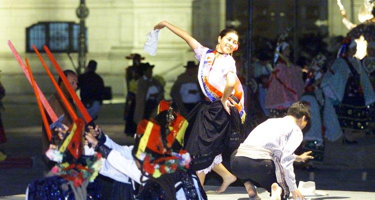 Danza y música tradicionales de Perú.
