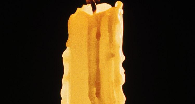 Uma vela comum