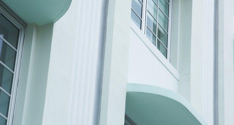 El Art Deco tiene presencia en un distrito de Miami.