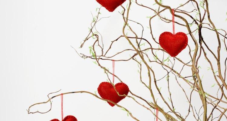 Haz un árbol de San Valentín para un amado.