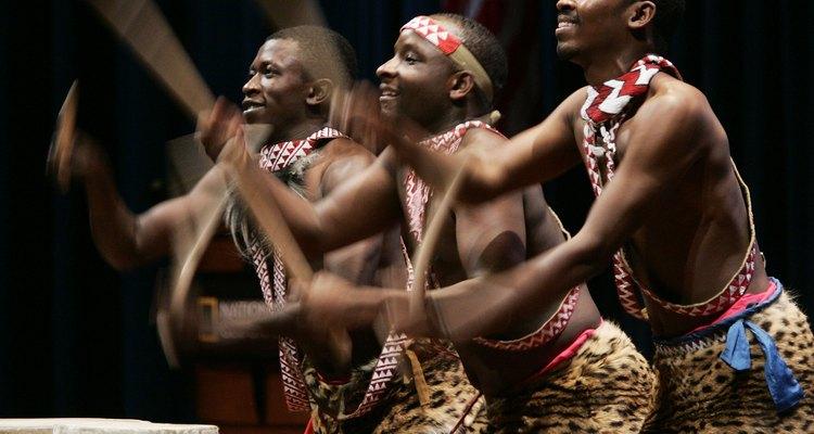 Percusionistas africanos.