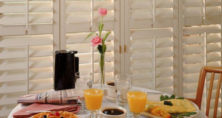 Los desayunos en un restaurante siempre tienen un toque especial.