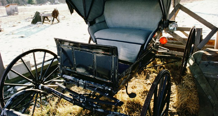 Una calesa Amish.