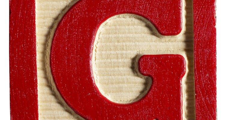 Aprenda a desenhar o G em letras garrafais