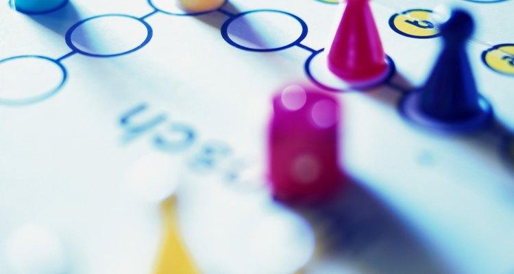 Caixas de jogos de tabuleiro são importantes para o armazenamento