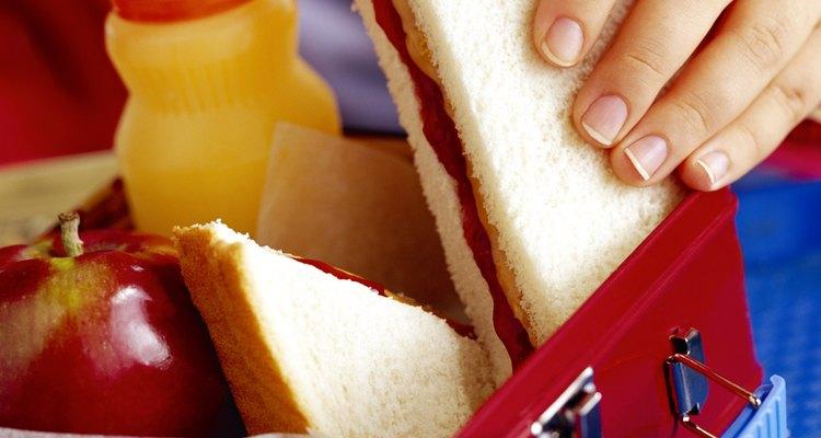 Estabeleça os limites entre lanche e refeição