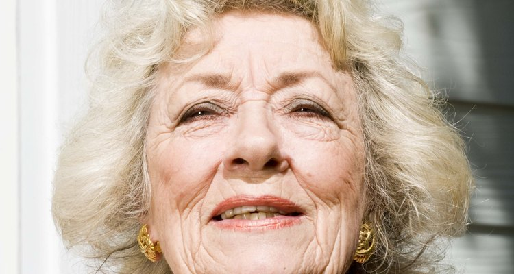 A change in eye colour is not uncommon among the elderly, for a variety of reasons.