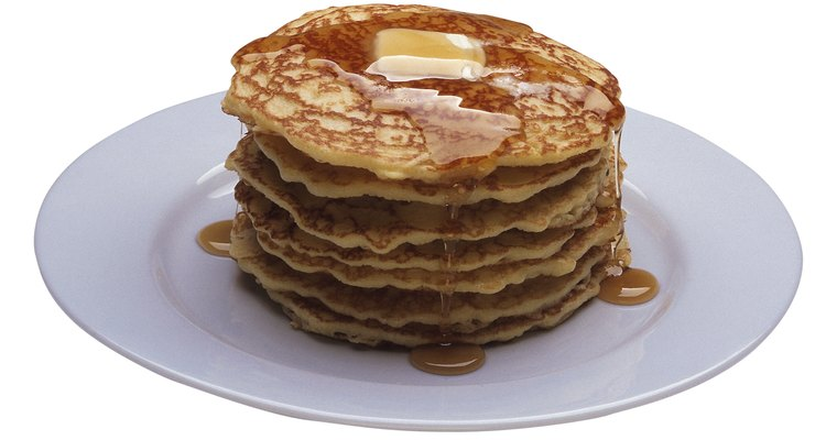 Stack your pancakes as you make them.