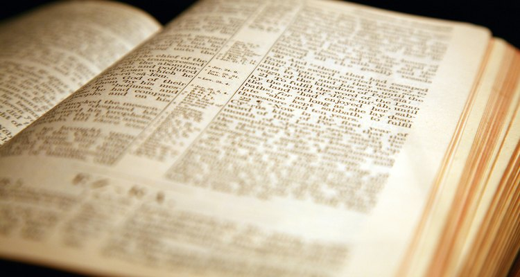 La lectura de la Biblia es fundamental para los presbiterianos.