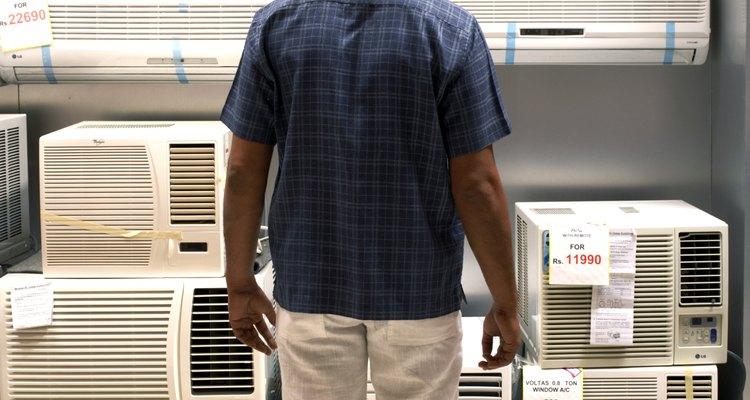 El aire acondicionado portátil te permite refrescar diferentes cuartos.