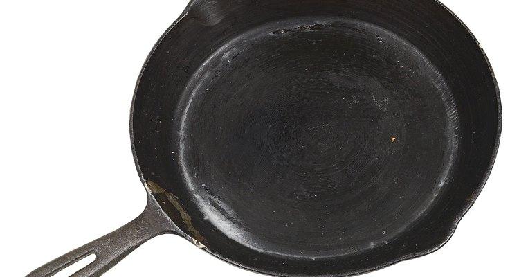 Las sartenes de hierro fundido son ideales para cocinar a fuego lento.