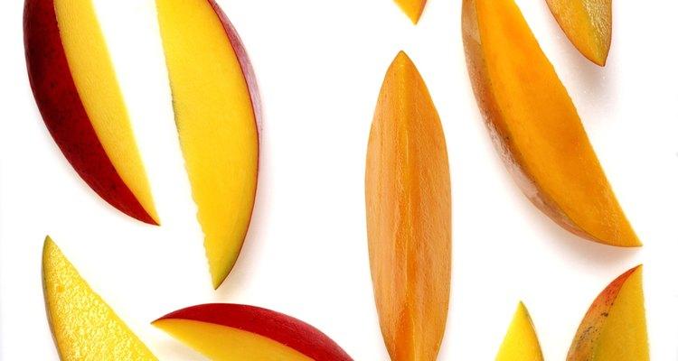 El mango hace un vino delicado.
