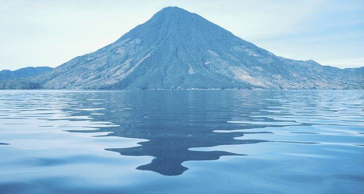 México tiene varios lagos volcánicos.