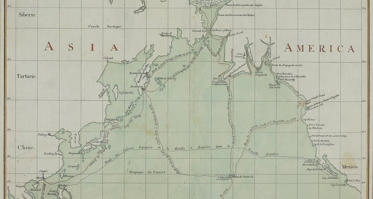 Los expertos creen que los primeros humanos en el norte de América viajaron por el Estrecho de Bering.