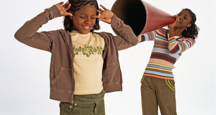Crianças gostam de fazer barulho