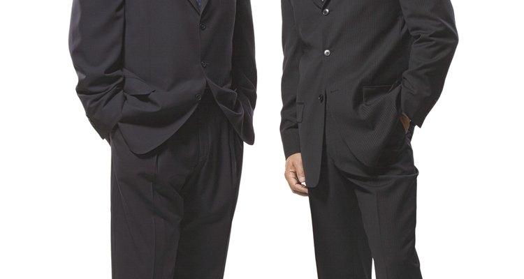 Businessmen in suits