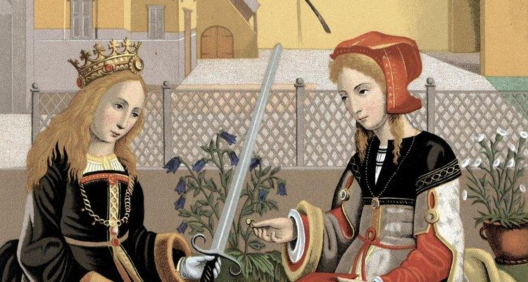 As mulheres medievais, apesar de seguirem atividades restritas, podiam levar vidas interessantes e variadas